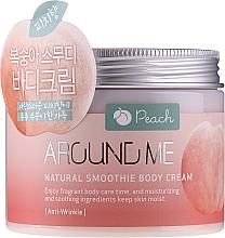 Parfémy, Parfumerie, kosmetika Smoothie krém na tělo - Welcos Around Me Natural Body Smoothie Cream Peach