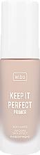 Parfémy, Parfumerie, kosmetika Primer-báze pod make-up - Wibo Keep It Perfect Soft Matte