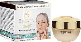 Parfémy, Parfumerie, kosmetika Multivitaminové kapsle pro péči o pleť obličeje - Health And Beauty Multi-Vitamin Capsules For Face