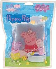 Parfémy, Parfumerie, kosmetika Dětská koupelová houba Prasátko Peppa baletka - Suavipiel Peppa Pig Bath Sponge