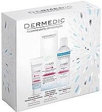 Parfémy, Parfumerie, kosmetika Sada - Dermedic Angio (cr/40ml + cr/7ml + micel/water/100ml)