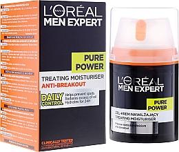 Parfémy, Parfumerie, kosmetika Gel-krém na obličej proti nedokonalostem - L'Oreal Paris Men Expert Pure Power