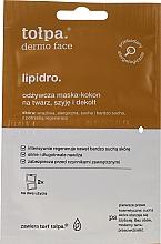 Parfémy, Parfumerie, kosmetika Výživná maska-kokon - Tolpa Dermo Face Lipidro Face Mask