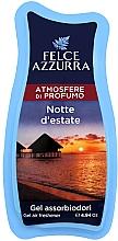 Parfémy, Parfumerie, kosmetika Osvěžovač - Felce Azzurra Gel Air Freshener Notte d'estate