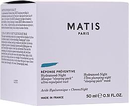 Parfémy, Parfumerie, kosmetika Noční liftingová maska - Matis Reponse Preventive Hydramood Night Mask
