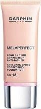 Parfémy, Parfumerie, kosmetika Korekční tónový prostředek proti pigmentaci - Darphin Melaperfect Anti-Dark Spots Correcting Foundation SPF 15
