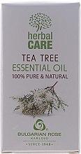 """Parfémy, Parfumerie, kosmetika Esenciální olej """"Čajový strom"""" - Bulgarian Rose Herbal Care Tea Tree Essential Oil"""