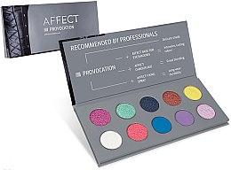 Parfémy, Parfumerie, kosmetika Lisovaná paleta očních stínů - Affect Cosmetics Provocation Eyeshadow Palette