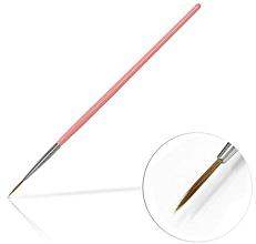 Parfémy, Parfumerie, kosmetika Štětec na zdobení nehtů, 10 mm Pink - Silcare Brush 02