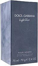 Parfémy, Parfumerie, kosmetika Dolce & Gabbana Light Blue pour Homme - Deodorant v tyčince