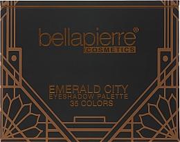 Parfémy, Parfumerie, kosmetika Paleta očních stínů - Bellapierre Emerald City Eye Shadow Palette