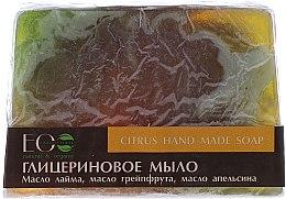 Parfémy, Parfumerie, kosmetika Glycerinové mýdlo s vůní citrusů - ECO Laboratorie Citrus Hand Made Soap