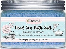 Koupelová sůl z Mrtvého moře s řeckou vůní - Nacomi Natural Greek Dead Sea Salt Bath — foto N1