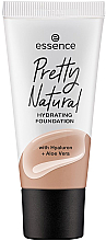 Parfémy, Parfumerie, kosmetika Make-up - Essence Pretty Natural Hydrating Foundation