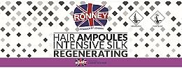 Parfémy, Parfumerie, kosmetika Ampule pro vyhlazení vlasů - Ronney Professional Hair Ampoules Intensive Silk Regenerating