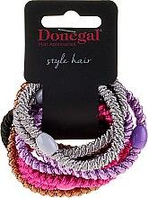 Parfémy, Parfumerie, kosmetika Gumičky do vlasů Glossy, 10 kusů - Donegal