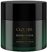 Parfémy, Parfumerie, kosmetika Noční pleťový krém - Clochee Premium Renew Night Cream