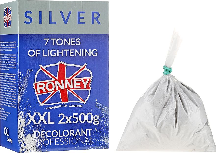 Pudr na zesvětlení vlasů do 7 odstínů - Ronney Dust Free Bleaching Powder Classic