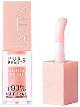 Parfémy, Parfumerie, kosmetika Olej na rty - Astra Pure Beauty Juicy Lip Oil