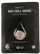 Parfémy, Parfumerie, kosmetika Bio celulózová maska s glutathionem a extraktem z lotosu - SNP Brightening Bio-cell Mask