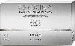 Parfémy, Parfumerie, kosmetika Komplex pro léčbu vypadávání vlasů pro ženy 1900 - Labo Crescina Hair Follicular Island Re-Growth Anti-Hair Loss Complete Treatment 1900 Woman