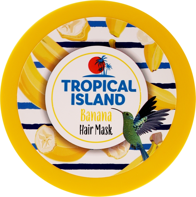 Maska na vlasy Banán - Marion Tropical Island Banana Hair Mask