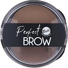 Parfémy, Parfumerie, kosmetika Sada na obočí, s aplikátorem - Bell Perfect Brow Set
