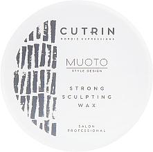 Parfémy, Parfumerie, kosmetika Stylingový vosk - Cutrin Muoto Strong Sculpting Wax