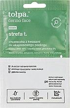 Parfémy, Parfumerie, kosmetika Ubrousek na peeling obličeje - Tolpa Strefa T Peeling Wipe