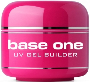 Gel na nehty, bezbarvý - Silcare Uv Gel Builder Clear Base One Clear V