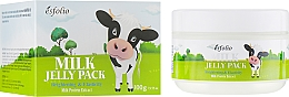 Parfémy, Parfumerie, kosmetika Mléčná lifting maska s tvarovou pamětí - Esfolio Milk Shape Memory Jelly Pack