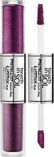 Parfémy, Parfumerie, kosmetika Dvojitá tekutá rtěnka - Touch In Sol Metallist Liquid Foil Lipstick Duo