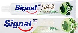 Parfémy, Parfumerie, kosmetika Zubní pasta na ochranu dásní - Signal Long Active Natural Elements