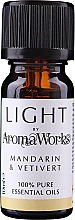 Parfémy, Parfumerie, kosmetika Esenciální olej Mandarinka a vetiver - AromaWorks Light Range Mandarin and Vetivert Essential Oil