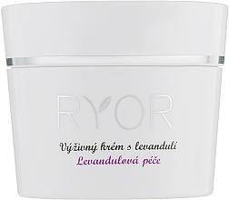 Parfémy, Parfumerie, kosmetika Výživný krém s levandulí - Ryor Lavender Nourishing Face Cream
