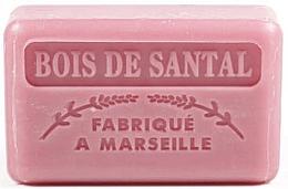 Parfémy, Parfumerie, kosmetika Marseille mýdlo Santalové dřevo - Foufour Savonnette Marseillaise