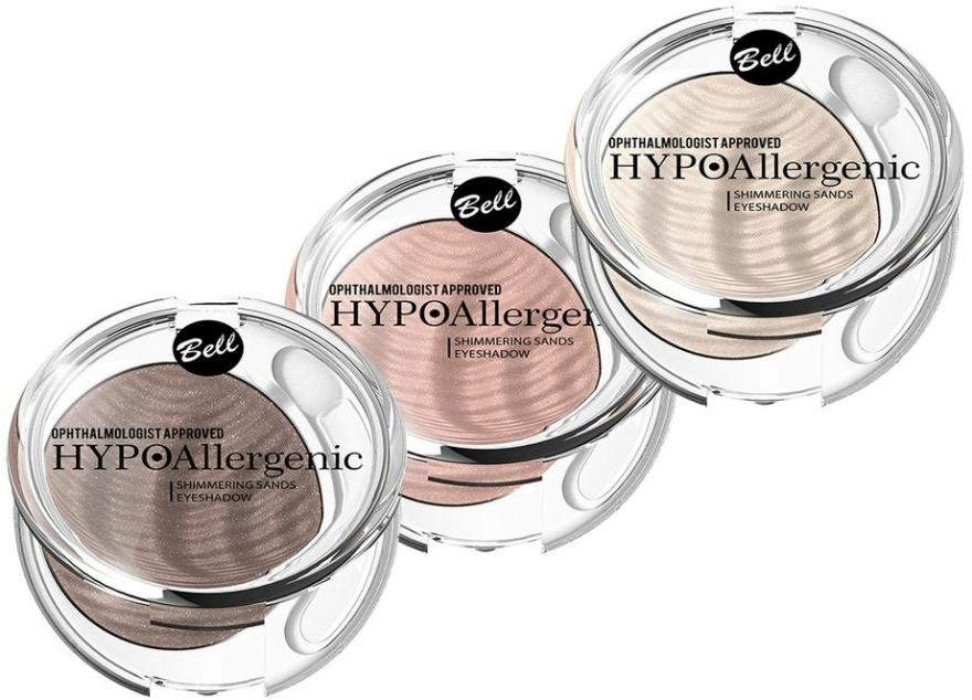 Hypoalergenní krémové oční stíny - Bell Hypoallergenic Shimmering Sand Bell Eyeshadow — foto N1