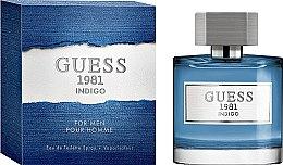 Parfémy, Parfumerie, kosmetika Guess 1981 Indigo For Men - Toaletní voda