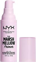 Parfémy, Parfumerie, kosmetika Primer na obličej - NYX Professional The Marshmellow Smoothing Primer