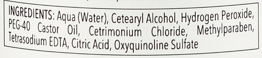 Krém-oxidační činidlo - Allwaves Cream Hydrogen Peroxide 3% — foto N5