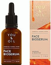 Parfémy, Parfumerie, kosmetika Vyživující a zesvětlující sérum na obličej - You & Oil Amber. Face Bioserum