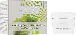 Parfémy, Parfumerie, kosmetika Výživný krém s přírodními oleji - Ryor Face Care