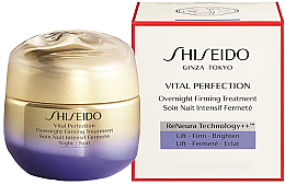Parfémy, Parfumerie, kosmetika Noční krém na obličej - Shiseido Vital Perfection Overnight Firming Treatment