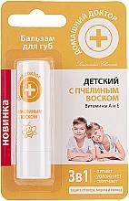 Parfémy, Parfumerie, kosmetika Balzám na rty Dětský s včelím voskem - Domácí Lékař