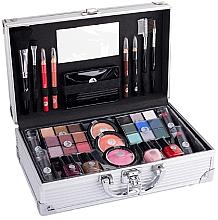 Parfémy, Parfumerie, kosmetika Kosmetický kufřík - Cosmetic 2K Fabulous Beauty Train Case Complete Makeup Palette