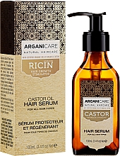 Parfémy, Parfumerie, kosmetika Sérum pro růst vlasů - Arganicare Castor Oil Hair Serum