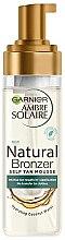 Parfémy, Parfumerie, kosmetika Opalovací pěna - Garnier Ambre Solaire Natural Bronzer Intense Clear Self Tan Mousse