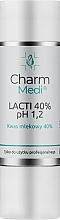 Parfémy, Parfumerie, kosmetika Kyselina mléčná 40% - Charmine Rose Charm Medi Lacti 40% pH 1.2