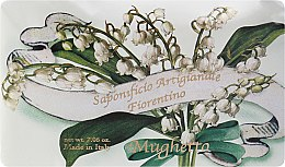 Parfémy, Parfumerie, kosmetika Toaletní mýdlo Konvalinka - Saponificio Artigianale Fiorentino Lily Of The Valley