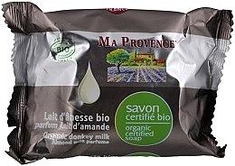Parfémy, Parfumerie, kosmetika Bio-organické mýdlo s oslí mlékem a mandlovou vůní - Ma Provence Organic Soap